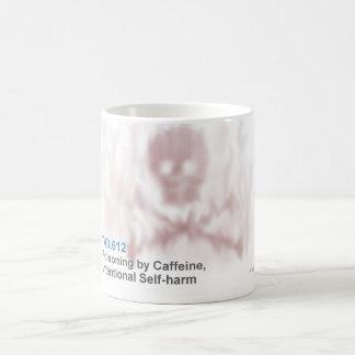 ICD-10: Envenenamiento T43.612 por el cafeína, Taza Básica Blanca