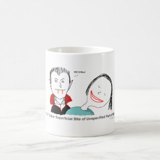 ICD-10: S10.97 Other superficial bite Coffee Mug