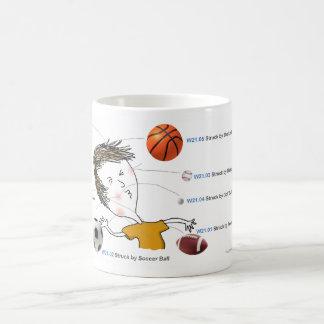 ICD-10: W21 Struck by Balls Classic White Coffee Mug