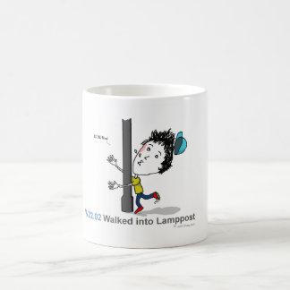 ICD-10: W22.02 Walked into lamppost Coffee Mug