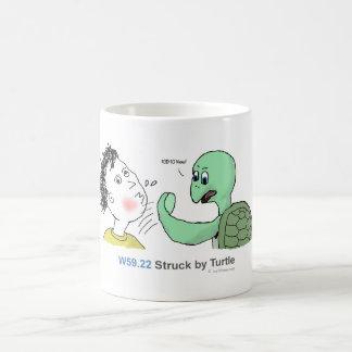 ICD-10: W59.22 pegado por la tortuga Taza