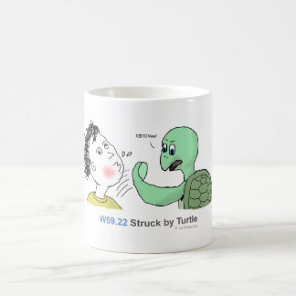 ICD-10: W59.22 Struck by turtle Coffee Mug