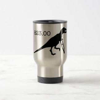 ICD-9 Code 823.00 - Injured Dinosaur 15 Oz Stainless Steel Travel Mug