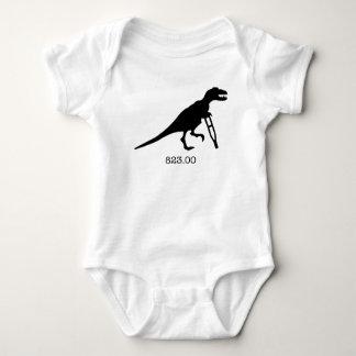 ICD-9: Injured Dinosaur Baby Bodysuit