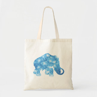 Ice Age Blue Crystal Mammoth Budget Tote Bag