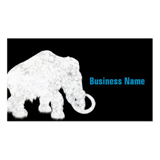 Ice Age Blue Crystal Mammoth Business Cards