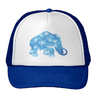 Ice Age Blue Crystal Mammoth Trucker Hat