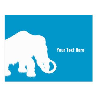 Ice Age Blue Crystal Mammoth Postcard