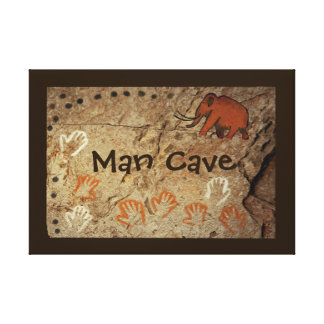 Ice Age Cave Art Gallery Wrapped Canvas