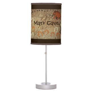 Ice Age Cave Art Desk Lamp