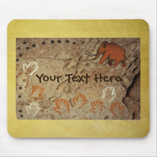 Ice Age Cave Art Mouse Pad