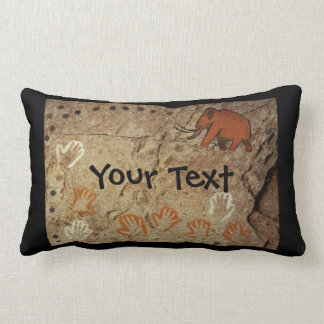 Ice Age Cave Art Pillow