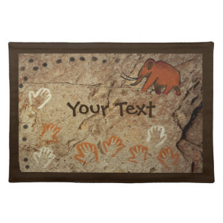 Ice Age Cave Art Cloth Placemat