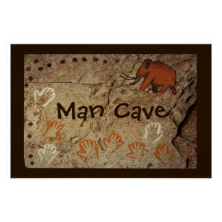 Ice Age Cave Art Poster