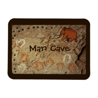 Ice Age Cave Art Rectangular Photo Magnet