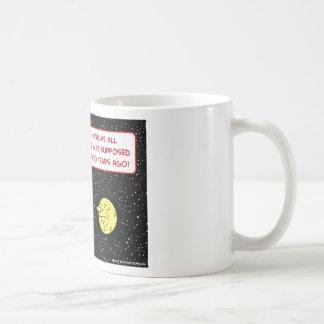 ice age earth moon discombobulated classic white coffee mug