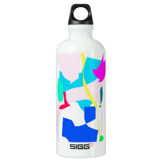 Ice Age Earth Yellow Line Continents Story SIGG Traveler 0.6L Water Bottle
