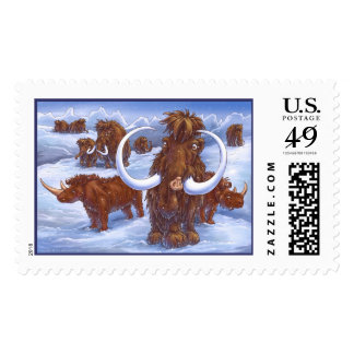 Ice Age Postage Stamps