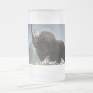 Ice Age Tough Frosted Glass Beer Mug