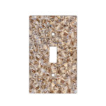 Ice Amber Diamond Crystals Glitter Bling Light Switch Cover
