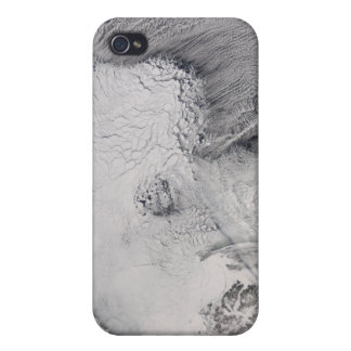 Ice and cloud streets in the Sea of Okhotsk Covers For iPhone 4