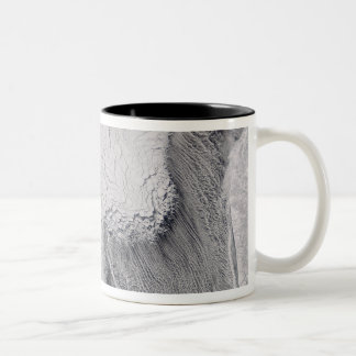 Ice and cloud streets in the Sea of Okhotsk Mugs