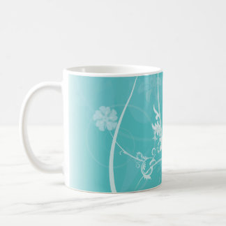 Ice and cold forest coffee mugs