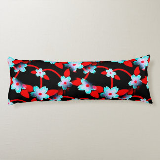 Ice and Fire Vine Pattern Body Pillow