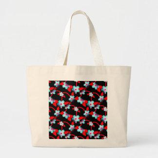 Ice and Fire Vine Pattern Jumbo Tote Bag