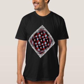 Ice and Fire Vine Pattern T-Shirt