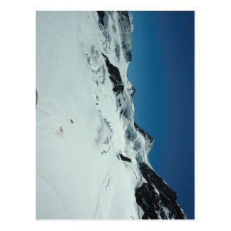 Ice and fissures at Jungfrau Postcard