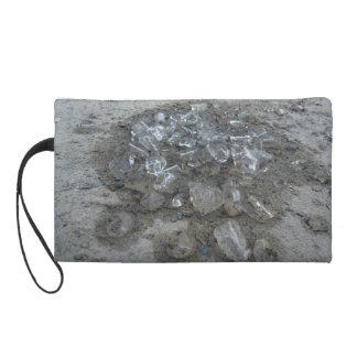 Ice and Sand wristlet purse
