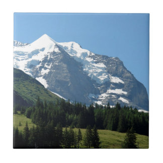 Ice and snow in the Swiss Alps Tiles