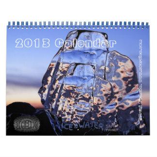 Ice and Water Art Calendar