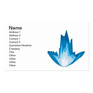 Ice Arrow Down Business Card