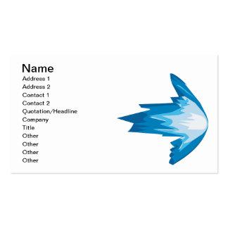 Ice Arrow Right Business Card