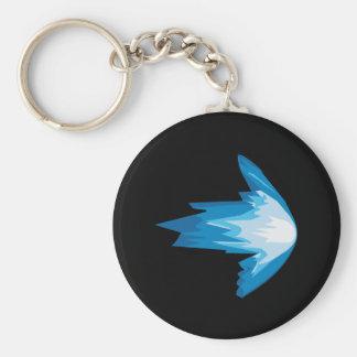 Ice Arrow Right Keychain