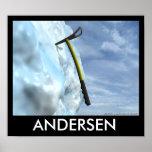 Ice Axe - Andersen Posters