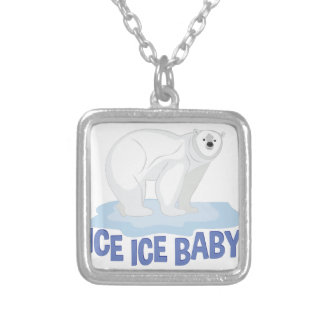 Ice Baby Silver Plated Necklace