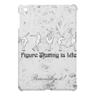 Ice Background, Figure Skating, Personalize it! iPad Mini Case