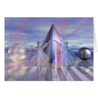 Ice ballet card