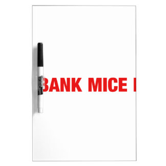 Ice bank mice elf Dry-Erase boards