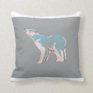Ice Bear Cushion Throw Pillow