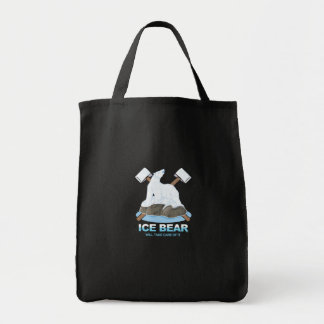 Ice Bear Will Protect It Animal Rescue Save the Tote Bag