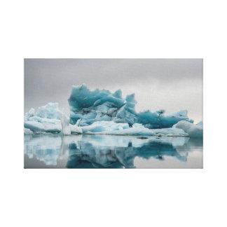ice berg canvas print