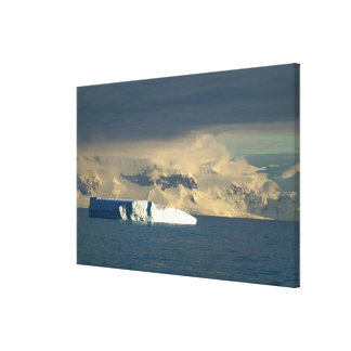 Ice Berg in the starts of the Drake Passage just Canvas Print
