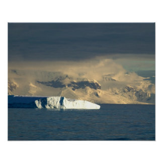 Ice Berg in the starts of the Drake Passage just Poster