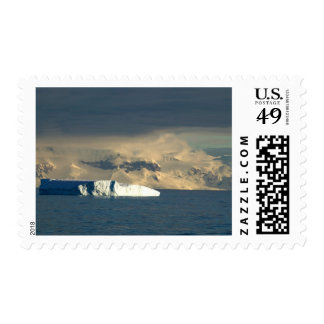 Ice Berg in the starts of the Drake Passage just Stamp