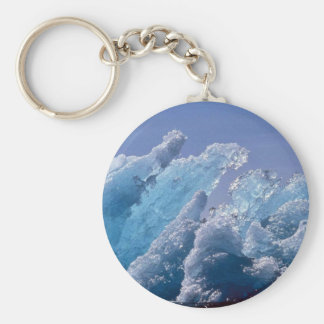 Ice Berg or Floating Ice Key Chain