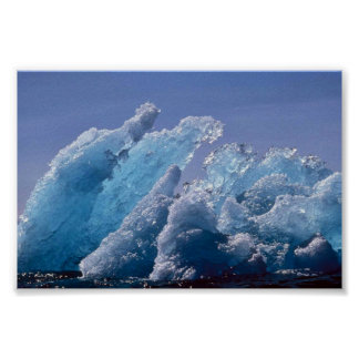 Ice Berg or Floating Ice Print